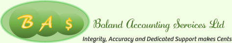 Boland Accounting Services Ltd Integrity, Accuracy and Dedicated Support makes Cents